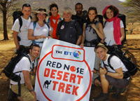 The BT Red Nose Day Desert Trek